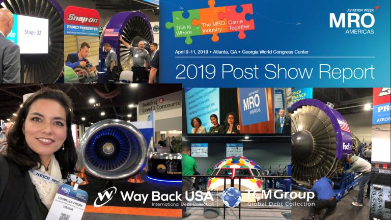 Way Back USA na MRO Aviation Américas 2019